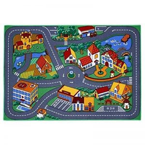 Associated Weavers Kids Corner Tapis circuit de jeu - petite ville - 95 x 133 cm de la marque Associated Weavers Kids Corner image 0 produit