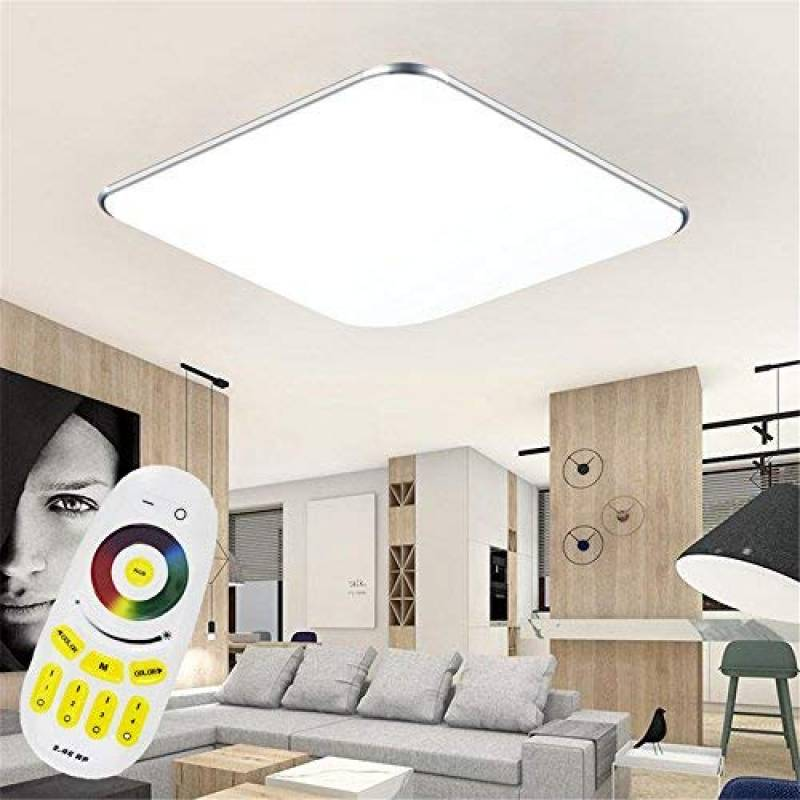 chambre 42W Dimmable LED plafonnier C-forme design Lampe ...